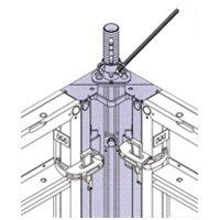 Угол распалубочный, для Опалубки шахт, стен, колонн